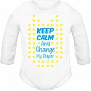 Body Keep Calm And Change My Diaper