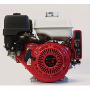Honda Horizontal OHV Engine with Electric Start - 270cc, GX Series, 1Inch x 3 31/64Inch Shaft, Model GX270UT2QAE2