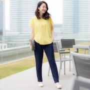 you rari ゆったり鹿の子パンツ【QVC】40代・50代レディースファッション