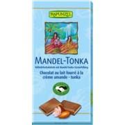 Ciocolata Bio cu Crema Migdale si Tonka Rapunzel 100gr