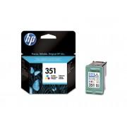 HP Cartucho de tinta Original HP 351 Tricolor para HP DeskJet , HP OfficeJet, HP PhotoSmart