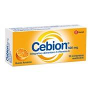 Dompe' Farmaceutici Cebion Masticabile Arancia Vitamina C 500 Mg 20 Compresse