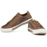 Clarks Nepler Vibe Sneakers For Men(Brown)
