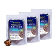 Sugar Badam Diabetes Almonds Sky Fruit Kingfruit Miracle Fruit for Diabetes Weight Loss - 150 gm pack of 3