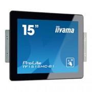 iiyama ProLite TF1515MC-B1, 38.1 cm (15''), Projected Capacitive, 10 TP, black