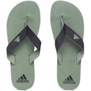Adidas Men's Black Green EZAY MAX OUT Flip-Flops Slippers