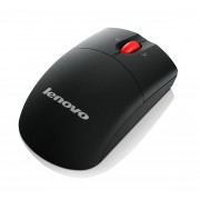Lenovo Laser Wireless Mouse RF Wireless Laser 1600DPI Black mice