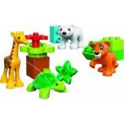 Set Constructie Lego Duplo Puii De Animale