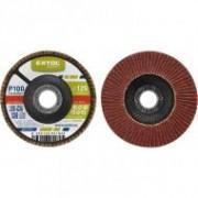 Extol Craft lamellás csiszoló, kúpos 125×22 mm, P100 (260030)