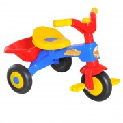 HOMCOM Kids Ride On Tricycle, 60Lx42Wx45H cm-Multicolour