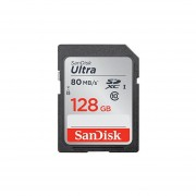 Sandisk Ultra SDXC 128GB 80MBS C10 Flash Memory Card (SDSDUNC-128G-AN6IN)
