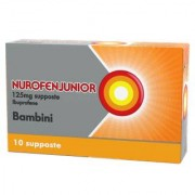 Reckitt Benckiser Nurofenjunior 10 Supposte Bambini 125 Mg