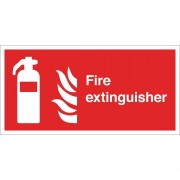 Nisbets Fire Extinguisher Sign