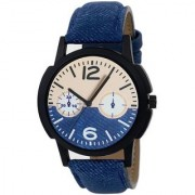 TRUE CHOICE NEW SOBER LOOK SUPER COOL WATCH FOR MEN WITH 6 MONTH WARRANTY