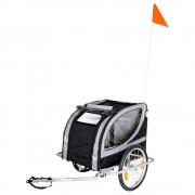Atrelado de bicicleta No Limit - Doggy Liner Paris Deluxe - C 148 cm x L 90 cm x A 88 cm/até 50 kg