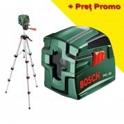Nivela laser cu linii BOSCH PCL 10 set