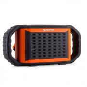 Poolboy Cassa bluetooth impermeabile USB SD arancione