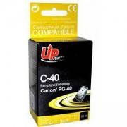Глава съвместима CANON PG-40 XL Black, 750 стр/5% 25 ml Uprint, LF-INK-CAN-PG-40XL-UP