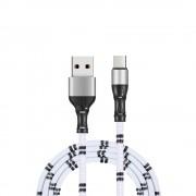 Micro USB - USB kábel pre mobil v Bamboo dizajne a dĺžkou 1 meter