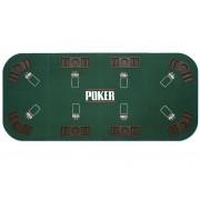 Mata składana do pokera dla 8 osób
