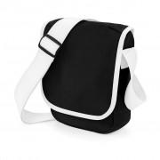 Taška přes rameno Bag Base Mini Reporter Bag - černá-bílá