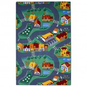 AK Sports Play Mat Village Street 100x165 cm 0309003