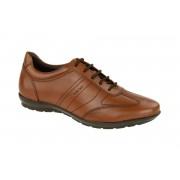 Geox Symbol Schuhe braun cognac
