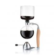 Bodum MOCCA Set cafetière à dépression, 1.0 l, avec réchaud à gaz rechargeable en inox Liège
