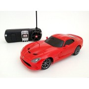 Maisto Tech 2013 Srt Dodge Viper Gts 1:24 Electric Rtr Rc Car Red