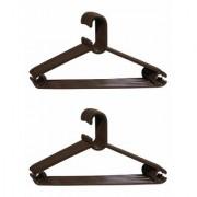 Ivaan Premium Quality Plastic Clothes Hanger Set of 12 pcs