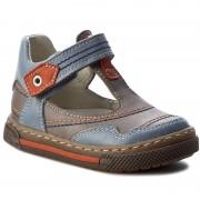 Обувки RENBUT - 13-1473 Popiel/Niebieski