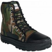 Unistar High Ankle Boot Boots For Men(Multicolor)