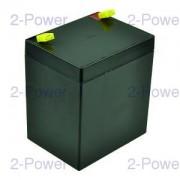 2-Power VRLA UPS Batteri 12v 5000mAh