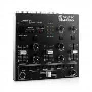 Skytec STM-2250 table de mixage 4 pistes USB SD MP3 FX