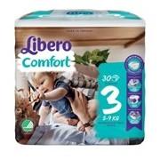 Fraldas comfort 5-9kg, 30 unidades - Libero