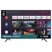 "LYTIO Hisense 58"" Smart Android TV 4K Televisor Ultra HD Pantalla LED TV con HDR Wi-Fi Netflix Youtube 55"" Vudu Hulu 60"" Google Assistant y más 58H6550E (Renewed)"
