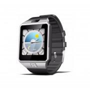 Relojes Smartwatch, QW09 Reloj Smart Watch Reloj Inteligente Android Compatible Con Iphone Samsung Bluetooth Wifi 3G Smartwatch Para IOS Android (Negro)