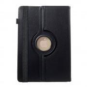 Javu - Lenovo Tab 3 10 Business Tablet Hoes - Rotatie Cover Lychee Zwart