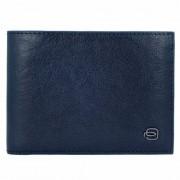 Piquadro Blue Square Special Monedero RFID piel 13 cm blu