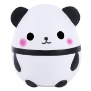Panda New Jumbo Kawaii Panda Squishy Slow Rising Creative Animal Doll Soft Squeeze Toy Bread Scent Stress Relief Fun for Kid Xmas Gift