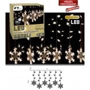 Beltéri Hóesés fényfüggöny 1 x 0,65 m 57 db LED KDH 002