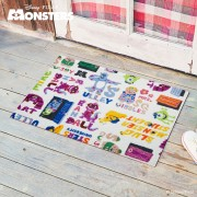 Monsters Inc(モンスターズインク)/玄関マット50×75cm|Disney(ディズニー)
