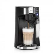 Klarstein Baristomat, 2 v 1 напълно автоматичен уред, кафе и чай, млечна пяна, 6 програми (COF8-Baristomat)
