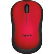 Mouse Logitech M220 Wireless Silent Rosu