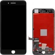 Compatibile Apple A - Vetro LCD per iPhone 7 Plus - Nero (Grado A)
