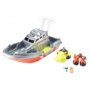 Matchbox Big Boots Sea Rescue Boat Vehicle Playset