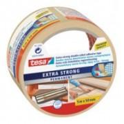 tesa Obojstranná kobercová páska, extra silno lepiace, biela, 10m x 50mm 05671-00001-00