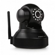 Foscam fi9816p HD Wireless kantel- en Draaibare IP WLAN camera/bewakingscamera/beveiligingscamera met microSD-micro-sd-kaartsleuf, IR nachtzicht, p2p-functie, bewegingsdetectie Zwart