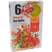 Set 6 Lumanari Parfumate Tip Pastila din Parafina Aroma de Frezie Timp de Ardere 4.5 h Lumanare Parfumata Decorativa