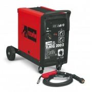 Aparat de sudura Telwin TELMIG 200/2 MIG-MAG 230V Rosu
